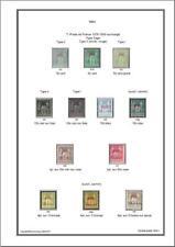Album de timbres de Cavalle 1893-1902 à imprimer