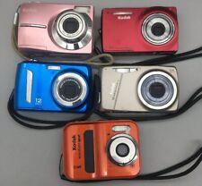 Lot of 5 Kodak Digital Cameras For Parts/Repair - Sold As-Is *Fast Free Ship*B25