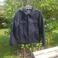 NWOT Levi's Commuter Pro Jacket Stretchy Water Repellent Hoodie Blue Reflect M