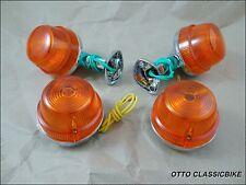 NEW Turn Signal Set HONDA C50 C65 C70 C90 PLASTIC BODY