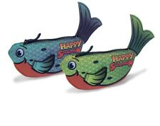Green & Blue Happy Salmon Set High-Fivin' Fin-Flappin' Card Game North Star