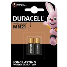 2 x Duracell MN21 A23 12V Security Alkaline Battery 23A LRV08 Expiry 2024 NEW