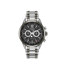 Roamer Men's Quartz Watch With Black Dial Analogue Display and Two Tone Stainles