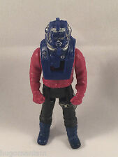 M.A.S.K. Sly Rax Action Figure with Helmet Buzzsaw Kenner Toy Pit Stop Catapult