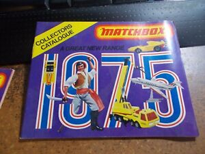 1975 Matchbox Superfast Toys Collectors Catalog Original FREE SHIPPING