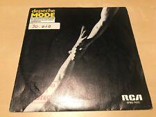 "DEPECHE MODE SPANISH 7"" SINGLE SPAIN WHITE LABEL RCA 84 SYNTH POP BLASPHEMOUS"