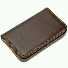 Fashion pu housse passeport carte de crédit sacs en cuir sac à main banque id card case