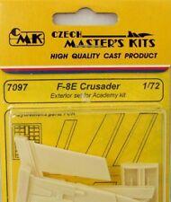 CMK 1/72 F-8E Crusader Exterior Set for Academy # 7097
