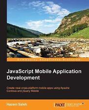 JavaScript Mobile Application Development by Hazem Saleh (2014, Paperback)