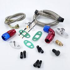 Oil Feed Line Fitting Kit For Toyota Supra 1JZGTE 2JZGTE 1JZ/2JZ Single Turbo