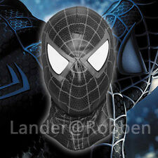 The Amazing Spider Man Black Mask Spider-Man Venom Game Halloween Full Face Mask