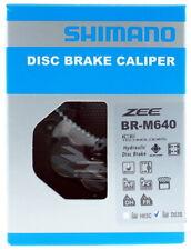 Shimano Zee BR-M640 Disc Brake Caliper w/ Brake Resin Pads Set D03S, New in Box