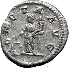 CARACALLA 213AD  Silver Authentic Genuine Ancient Roman Coin MONETA i65088