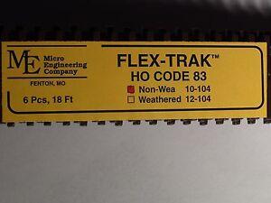 HO Micro-Engineering #10-104 SCALE Code 83 Flex Track NON WEA