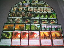 MTG Magic EXTENDED ELVES DECK Apes Red Sun's Zenith Lot Sylvan Ranger Fireball