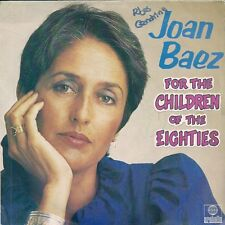 "45 TOURS / 7""--JOAN BAEZ-FOR THE CHILDREN OF THE EIGHTIES / A LITTLE LOVE INSIDE"
