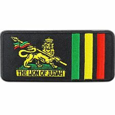 The Lion Of Judah Army Rasta Reggae Jamaica BOB Rastafari Iron-On Patches #0802
