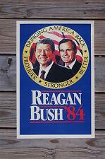 Reagan Bush campaign poster 1984