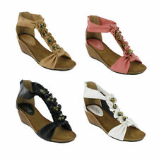 Zip Platform & Wedge Casual Shoes for Women