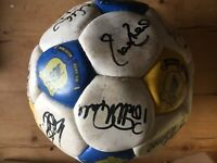 EVERTON FOOTBALL CLUB OFFICIAL APPROVED LICENSED PRODUCT REPLICA SIGNED BALL