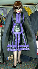 rare heavy rubber lined mackintosh raincoat hamilton & belt 50 chest TV 5 long