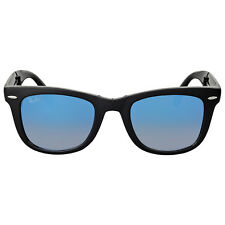 Ray Ban Wayfarer Folding Blue Gradient Flash Sunglasses