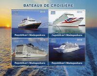 Madagascar 2018 CTO Cruise Ships 4v M/S Boats Nautical Stamps