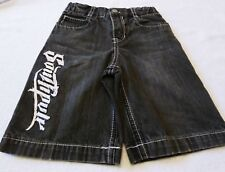Boys Black Shorts Denim Distressed  by South Pole Authentic Collection Size 4T