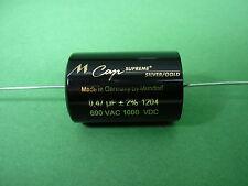 Mundorf Mcap Supreme Silver Gold 0,47µF/ Silber-Gold -> 300B 2A3 6C4C tube amp