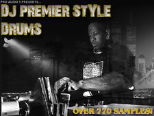 Estilo DJ Premier kits de batería 700 muestras! - cadera Over Hop Rap tambores -. WAV DESCARGAR