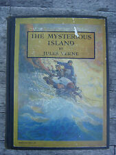THE MYSTERIOUS ISLAND BY JULES VERNE 1929 N.C. WYETH ILLUSTRATED EDITION
