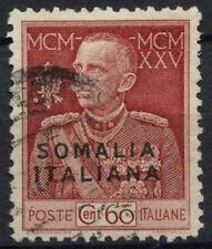 Italian Somaliland 1925-2926 SG # 66B 60 Lago Rosso P11 USATO #A 92205