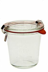 Weck 900 Tall Mold Jar - 1/5 Liter Set of 6