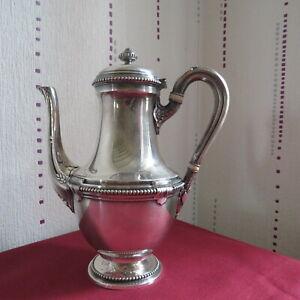 Christofle Gallia Coffee Maker Metal Silver Model Pearl