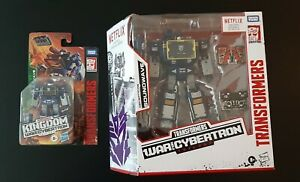 Transformers SOUNDWAVE War for Cybertron Walmart Exclusive Voyager and Core Lot