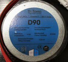 DeToma D90 Einbaulautsprecher für Feuchträume Feuchtraum
