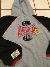 VTG Negro League Baseball Patch Sweatshirt Athletic Pullover Hoodie Sz. XXL