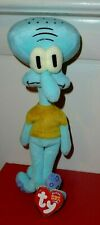 Ty Beanie Baby SQUIDWARD TENTACLES (SpongeBob Squarepants) MINT TAG NOT Attached