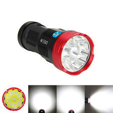 Original SKYRAY 20000Lm 10x CREE XM-L R8 LED Taschenlampe Lampen Licht Akkru