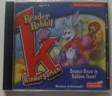 Reader Rabbit Kindergarten Bounce Down in Balloon Town