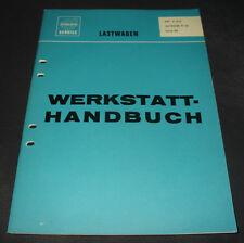 Werkstatthandbuch Volvo LKW Lastwagen Typ 86 Getriebe R 50 Stand Mai 1967!