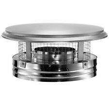DuraVent 6-Inch Stainless Steel Round Triple-Wall Fire-Safe Designed Chimney Cap