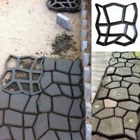 Path Maker Driveway Walk Pavement Paving Mold Patio Concrete Stepping Stone A6C4
