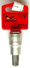 """Teng Tools M121255-c TPX Bit Socket With 1/2"""" Drive Tpx30 68250802"""