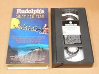 Rudolphs Shiny New Year (VHS, 1995)