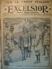 WW1 N° 1759 ROI ITALIE Gaux BRUSATI CADORNA ARTILLERIE ITALIENNE EXCELSIOR 1915