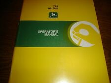 John Deere 775 Air Drill Manual