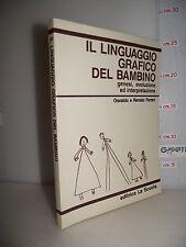 LIBRO Ferrari IL LINGUAGGIO GRAFICO DEL BAMBINO genesi interpretazione 6^rist.☺