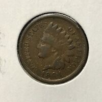 1894 1c INDIAN HEAD CENT *NICE FINE COIN* LOT#AI40