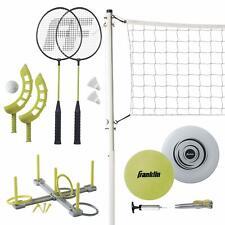 Franklin Sports Fun 5 Combo Set w/Pump/Ring Toss/Flip Toss/Flying Disc 50804